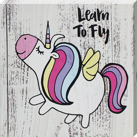 Learn To Fly - Unicorn Wings