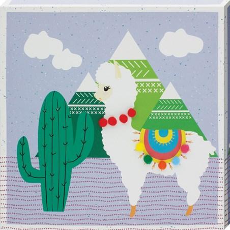 Cacti Llama III - 3D