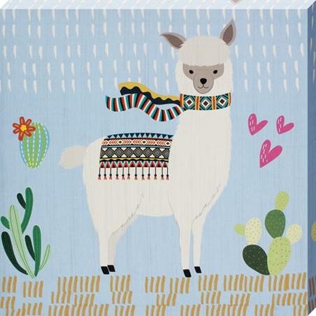 Little Llama III - Scarves On!
