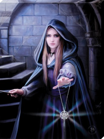 Small Light In The Darkness - Anne Stokes