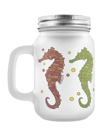 Creatures of The Sea - A Shoal Of Seahorses