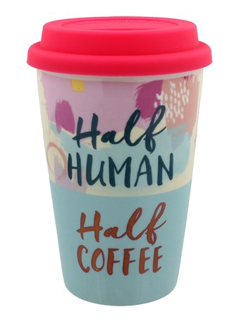 Half Human Half Coffee - Ceramic