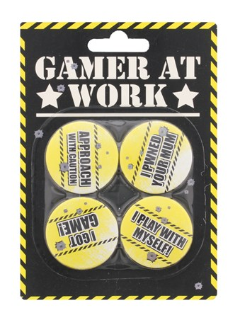 Approach With Caution - Gamer At Work