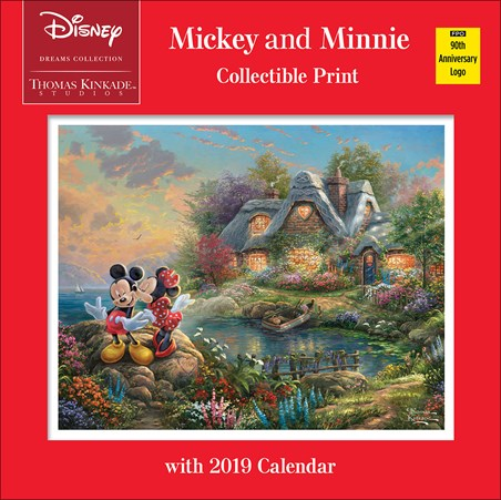Mickey and Minnie - Thomas Kinkade