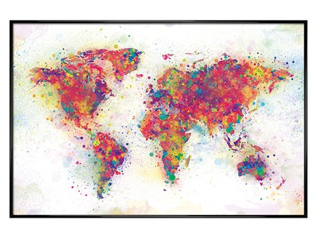 Colour Splash - World Map