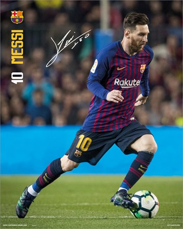 Messi 18-19 - Barcelona FC