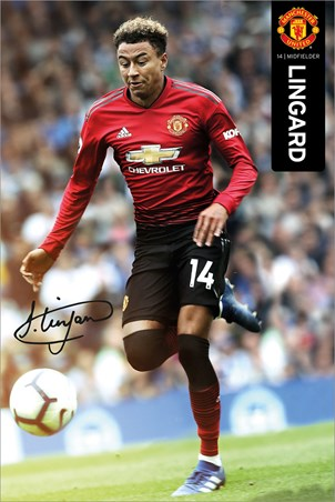 Lingard 18-19, Manchester United