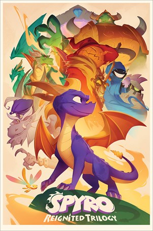 Reignited Trilogy, Spyro The Dragon