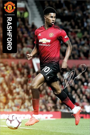 Marcus Rashford 18-19 - Manchester United