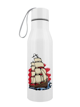 Tall Ship Tattoo - Stainless Steel