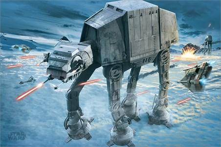 AT-AT Attack - Star Wars
