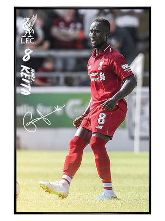 Gloss Black Framed Keita 18-19 - Liverpool FC