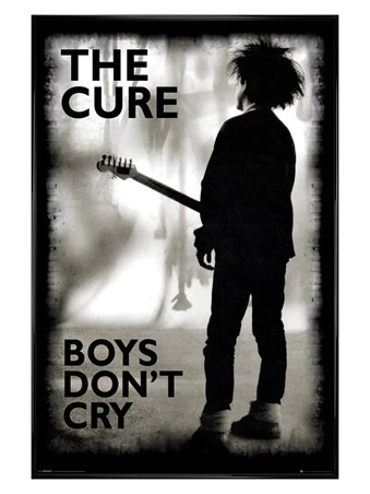 Gloss Black Framed Boys Don't Cry - The Cure