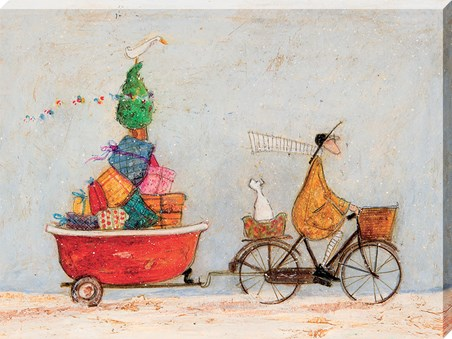 A Tubful of Good Cheer - Sam Toft