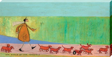 The March of the Sausages - Sam Toft