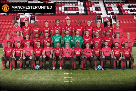 Manchester United Players 18-19 - Red Army