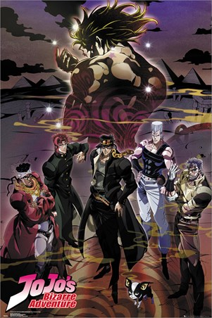 Group - JoJo's Bizarre Adventures