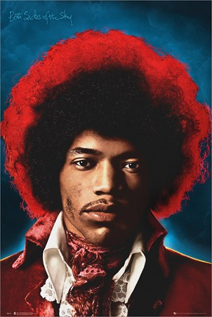 Both Sides Of The Sky Jimi Hendrix Poster