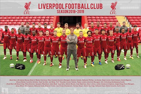 Team Photo 18-19, Liverpool