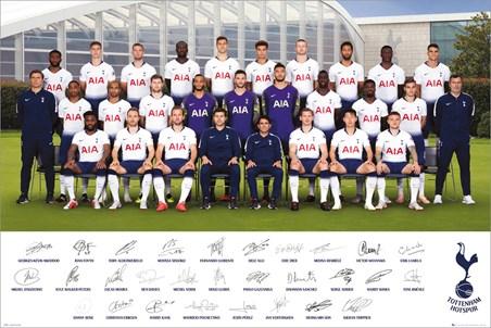 Team Poster 18-19 - Tottenham Hotspur