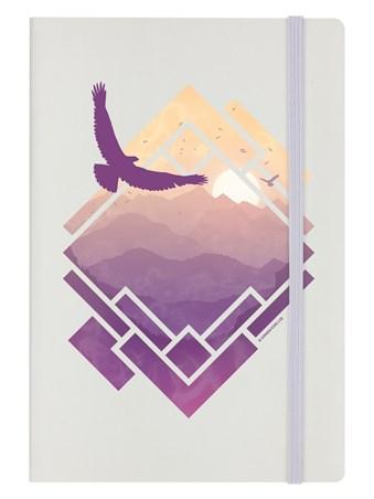 Raven Sunset - A Pastel Paradise