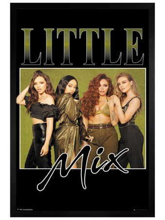 Black Wooden Framed Khaki - Little Mix