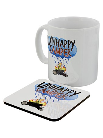 Unhappy Camper - Rainy Day Pick Me Up