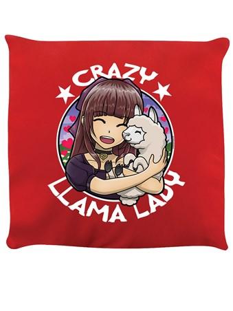 Crazy Llama Lady - Llama Love