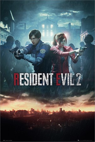 City Key Art - Resident Evil 2