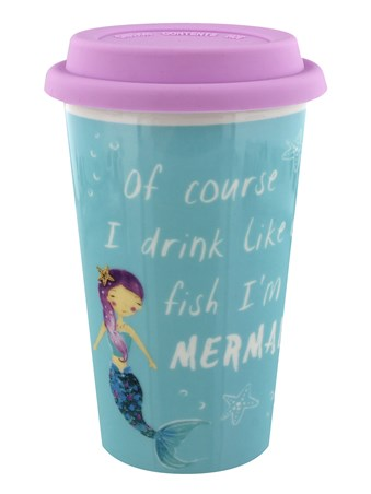 Drinks Like A Fish - Mermaid