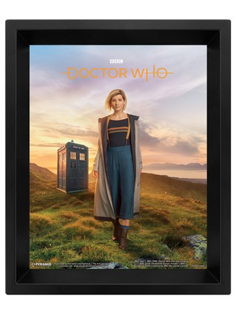 13th Doctor Lenticular - Doctor Who