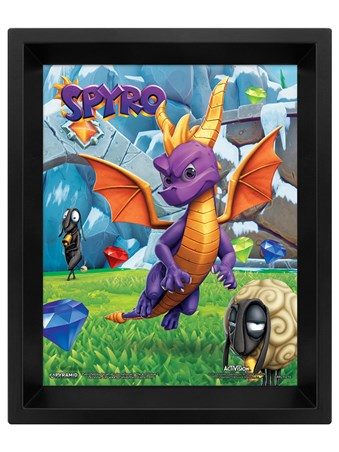 Play Time Lenticular - Spyro