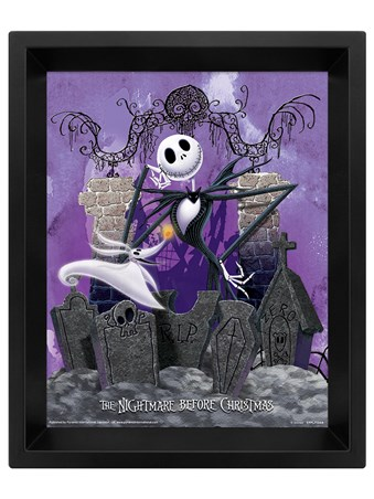 Jack's Graveyard - Nightmare Before Christmas