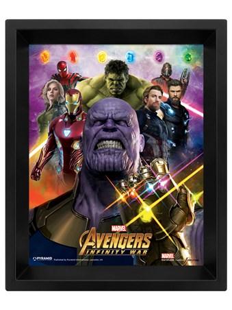 Infinity War Gauntlet Lenticular - The Avengers