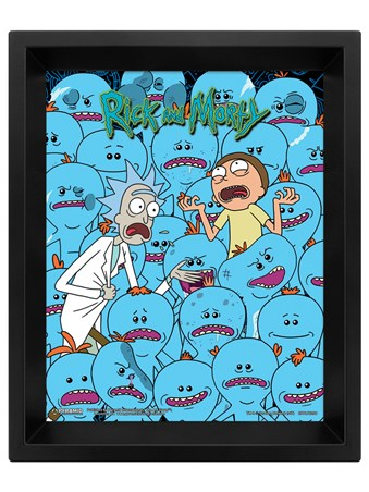Mr. Meeseeks Lenticular - Rick and Morty