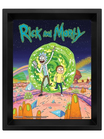 Portal Lenticular - Rick and Morty