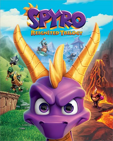 Game Cover Art - Spyro