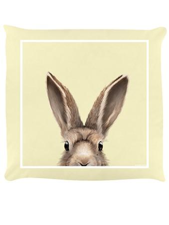Hare, Inquisitive Creatures Hare Cream Cushion