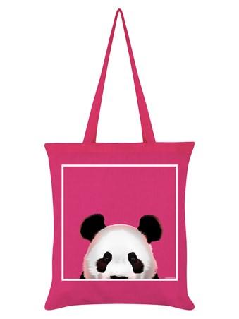 Peeking Panda - Inquisitive Creatures