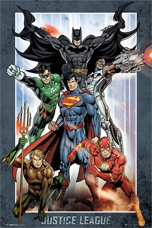Justice League Group - DC Comics