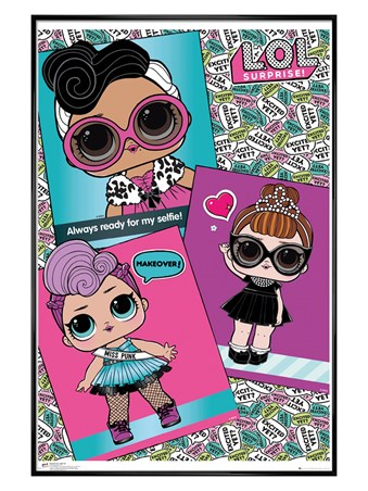 Gloss Black Framed Selfie Ready - LOL Surprise Dolls