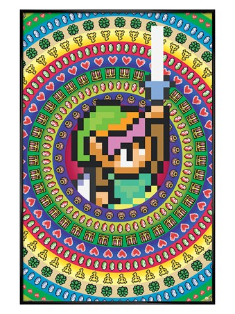 Gloss Black Framed Collectables - The Legend Of Zelda