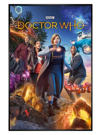 Gloss Black Framed Chaotic - Doctor Who