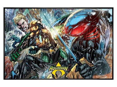 Gloss Black Framed Atlantean Punch - Aquaman