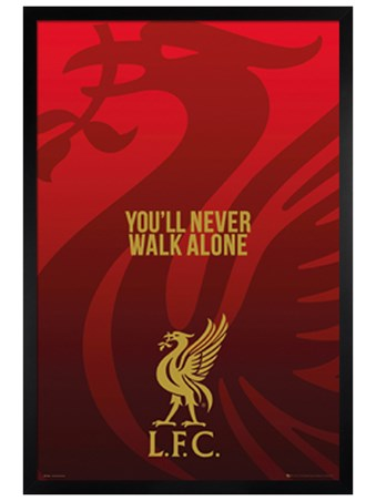 Black Wooden Framed With A Liverbird Upon My Chest! - Liverpool FC
