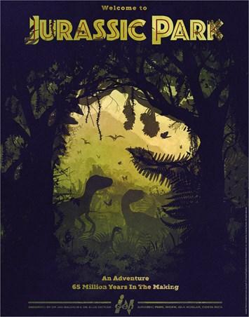 Dino Silhouette - Jurassic Park