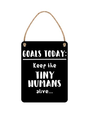 Keep The Tiny Humans Alive, Tip Number 1