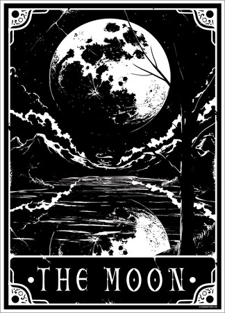 The Moon - Deadly Tarot
