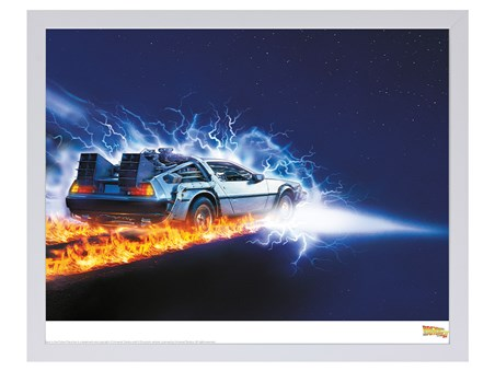 Delorean Fire Light - Back To The Future Limited Edition