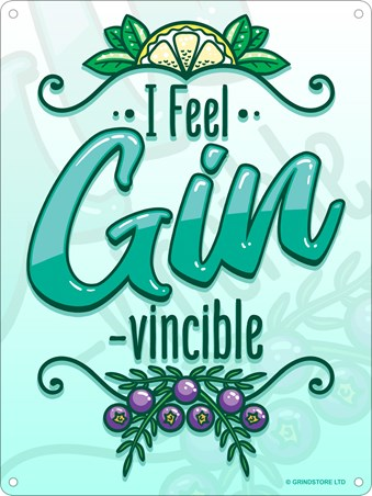 I Feel Gin-Vincible - Dutch Courage